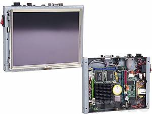 "VOX-064 6.4"" TFT LCD Panel PC, VDX-6354 Vortex86DX 800MHz CPU Board, 256Mb SDRAM, VGA, LAN, COM, Audio, External Power Adapter"