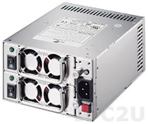 ZIPPY MRT-6300P Mini Redundant AC Input PS/2 300+300W ATX Power Supply, ATX12V, with PFC, RoHS (02254900)