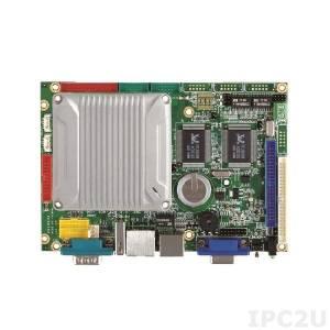 "VMXP-6426-4ES1 Vortex86MX+ 800MHz 3.5"" CPU Module, 1GB DDR2 RAM, 4GB NAND Flash, VGA/LCD/LVDS, 3xLAN, 3xCOM, 4xUSB, GPIO, LPT, Compact Flash Socket, PWMx16"