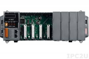 iP-8847 8 slots Faster CPU (80 MHz) Dual Ethernet ISaGRAF PAC 80186, 80MHz, 10/100 Mbps