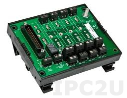 8BP04 4 Channels Backpanel for 8B Modules, up to 50V