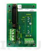 SCM7BXR1 Current-to-voltage conversion resistor, used with the SCM7B33 modules.