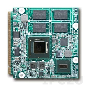 PQ7-M101G-1600-1024 Intel Atom Z530 1.6GHz Processor based Qseven module with 1GB DDR2 SDRAM, RTL8111C, LVDS, Gigabit Ethernet, SDVO,2xSATA