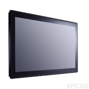 "GOT-3187W-881-PCT 18.5"" WXGA TFT Fanless Touch Panel Computer with socket LGA1150 for 4th Gen TE series Intel Core, projected capacitive touch, 1x 204-pin DDR3, 1x 2.5"" SATA HDD, 1x mSATA, 1xCFast, 2xCOM, 4xUSB, HDMI, 2xPCIe Mini, LAN, Audio, power supply 19V DC"