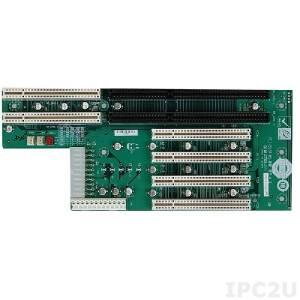 PCI-5S2A-RS 5 Slots PICMG Backplane w/2xPICMG/4xPCI, RoHS, ATX