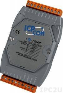 I-7024R 4 Channels Analog Output, 5-channel Digital Input Module