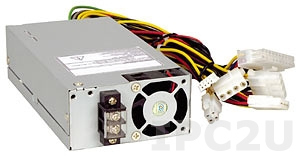 ACE-4520C-RS 24V DC Input 200W ATX 1U Industrial Power Supply, RoHS