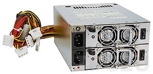 ACE-R4140AP-RS Mini Redundant AC Input 400W ATX Power Supply, Includes 2xACE-R4140AP1-RS, with PFC Function, RoHS