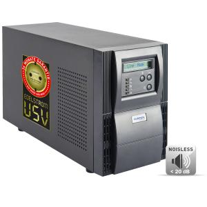 MD-1000I-N Multimatic Noiseless-USV, 1000VA/900W, 7 min. autonomous time, Online-continuous converter, Desktop, 36 months warranty for USV & Battery