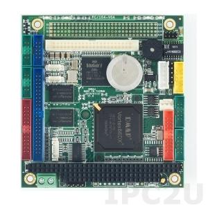 VDX-6354RD-512 PC/104 Vortex86DX 800MHz CPU Module with 512MB RAM, VGA CRT/LCD, LAN, 4xCOM, 2xUSB, Audio, GPIO, operating temp -20..+70 C