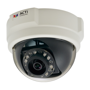 E58 2MP Indoor Dome with D/N, Adaptive IR, Basic WDR, SLLS, Fixed lens, f3.6mm/F1.85, H.264, 1080p/30fps, DNR, PoE