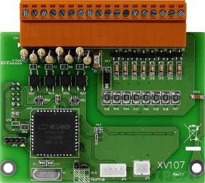XV107 8-channel Isolated Source-type Digital Input and 8-channel Isolated Sink-type Digital Output (RoHS) only for VPD-132/133