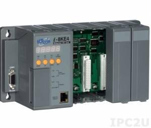 I-8KE4 I/O Expansion Unit for I-8000 with 20W PS, 4 Expansion Slots, Ethernet