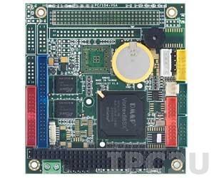 VSX-6150-V2-X PC/104 Vortex86SX 300MHz CPU Module with 128MB DDR2, 2xCOM, 2xUSB, GPIO, -40...+85