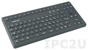 TKG-086-MB-IP68-BACKL-USB Industrial Silicone IP68 Keyboard with Backlight, 86 Keys + 2 Mouse Button, USB Interface