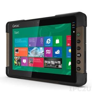 "Getac T800 Basic 8.1"" 1280x800 Rugged IP65 Tablet PC, MultiTouch, Intel Pentium N3530 2.16GHz, 4GB RAM, SSD64GB, 8MP Camera, HD Webcam, Bluetooth/WLAN, micro-HDMI, USB, Audio, Windows 8.1 Pro , 4200mAh Battery, -21...50C Operating Temp"