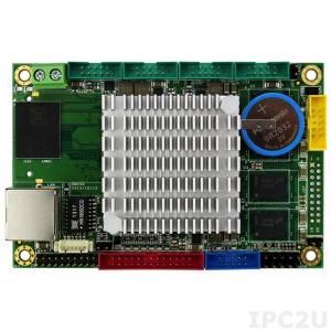 VDX2-6518-1G-S Vortex86DX2 Tiny CPU Module 1GB DDR2, VGA, LCD, LVDS, LAN, 4xCOM, 2xUSB, SD card slot, PWM