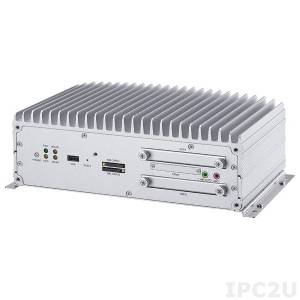 "VTC 7100-C8K Embedded Server Intel Atom D2550 1.86GHz CPU, 2GB DDR3, VGA, LVDS, 4xUSB, 2xGbit LAN, 8xPoE Gbit LAN, RS232, RS485/422, 4xDI/4DO, Audio, CFast Slot, 2.5"" SATA Drive Bay, 2xMini-PCIe, 9..36V DC-In"
