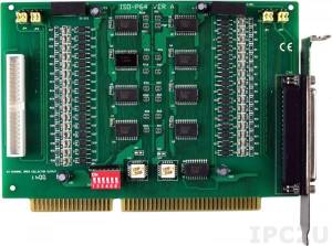 ISO-P64 ISA Isolated 64DI Board, Adapter CA-4037x1, Cable Socket CA-4002x2
