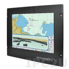 "R15L600-MRM2 15"" TFT LCD Marine Monitor, 1024x768, brightness 400 nit, VGA, DVI-D, S-Video, Composite, power supply 24V DC, front panel IP66"