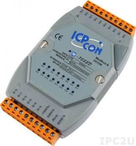 M-7053D Digital I/O Module w/LED Display, Modbus RTU