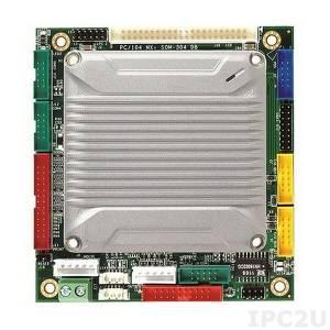 VMXP-6453M-3NE1 PC/104 Vortex86MX+ 800MHz CPU Module with 512MB RAM, VGA/LCD/LVDS, 3xCOM, 4xUSB, LAN, GPIO, CompactFlash, Audio, PWMx16, -20...+70