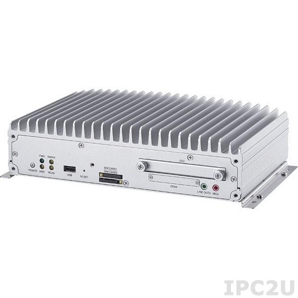 "VTC-7120-B3K Embedded System with Intel Celeron 847E 1.1GHz, 2GB DDR3 RAM, VGA, LVDS, 2xGbE LAN, 1xRS-485/422, 1xRS-232, GPIO, 4xUSB, Audio, 2.5"" SATA bay, CFast, 2xMini-PCIe, 9-36V DC input"