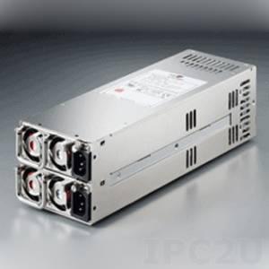 ZIPPY R2W-6400P 2U AC Input 400W ATX Industrial Power Supply Mini Redundant, RoHS