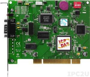 PISO-CPM100U-D One standalone intelligence CAN communication board, CANopen firmware, 9-pin D-sub connector