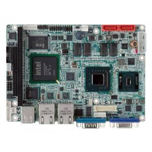 "WAFER-945GSE-N270W 3.5"" Embedded Intel Atom N270 1.6GHz CPU Card with VGA/LVDS, Dual GbE, CFII, USB, SATA, RoHS, -20...+70 C"