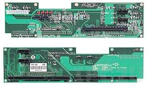 PBPE-06V 2U Vertical PICMG 1.3 Backplane, 1xPICMG, 1xPCI-Express x16, 4xPCI-Express x1 Slots, 12V max