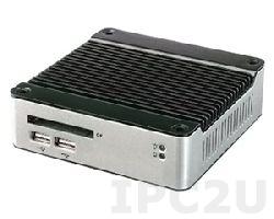 eBOX-2300SXA-LS Thin Client with SBC MSTI PSX 300MHz SoC, 128MB DDR2 RAM, VGA, 1xEthernet 10/100, 3xUSB, CompactFlash Socket, External Power Adapter 10W, RDP, ICA, VNC and XDMCP Protocol Support