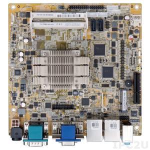 KINO-DBT-N29301 Mini-ITX SBC supports Intel Celeron Quad-Core Processor N2930 1.83GHz, VGA, DVI-D, iDP, 5xCOM, 6xUSB 2.0, 2xUSB 3.0, 2xGbE LAN, 2xSATA 2, TPM, SMBus, HD Audio, RoHS