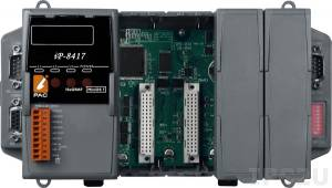 iP-8417 4 slots Faster CPU (80 MHz) Dual Ethernet ISaGRAF PAC 80186, 80MHz
