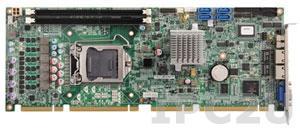 PEAK-876VL2 PICMG 1.3 Intel Core 2 Quad i3/i5 LGA1156 CPU Card, Intel Q57 Chipset, up to 8GB DDR3 1066/1333MHz RAM, VGA, 2xGbit LAN, 6xSATA/RAID 0,1,5,10, 8xUSB, 2xCOM