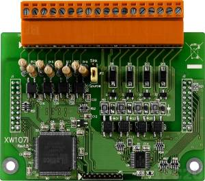 XW107i 8-channel Isolation Digital Input and 8-channel Isolation Digital Output Module, RoHS