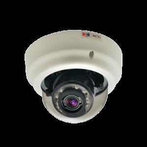 B65 2MP Indoor Zoom Dome with D/N, Adaptive IR, Basic WDR, SLLS, 3x Zoom lens, 3-9mm/F1.2-2.1, DC iris, H.264, 1080p/30fps, DNR, Audio, MicroSDHC/MicroSDXC, PoE/DC12V, IK09, DI/DO