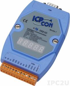 I-7521D Addressable RS-485 to RS-232/485 Converter, cable CA-0910Fx1
