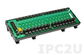 8BP16-2 16 Channels Backpanel for 8B Modules, no CJC, up to 50V